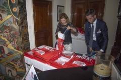 BritishSpanish Society Reception at the British Ambassadors residence in Madrid