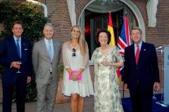 VIP Reception at the British Embassy in Madrid