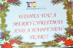 BritishSpanish Society Christmas Party 2015 – 10 Dec 2015