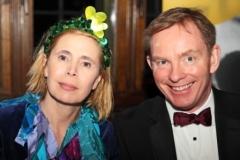 Chris Bryant MP and Agatha Ruiz de la Prada