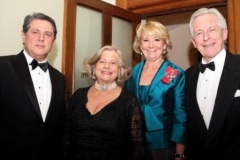 Spanish Ambassador to the UK, H.E. Federico Trillo, Esperanza Aguirre with Lord and Lady Brennan