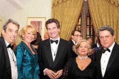 Jimmy Burns Chairman English Spanish Society, Esperanza Aguirre, Jaime Hugas, Lady Brennan and Ambassador Trillo