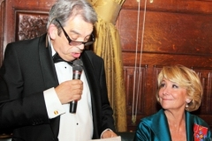 Jimmy Burns Chairman English Spanish Society and Esperanza Aguirre