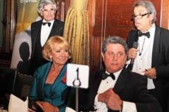 Jimmy Burns Chairman English Spanish Society, Esperanza Aguirre and Spanish Ambassador to the UK, H.E. Federico Trillo