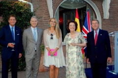 VIP Reception at the British Embassy in Madrid