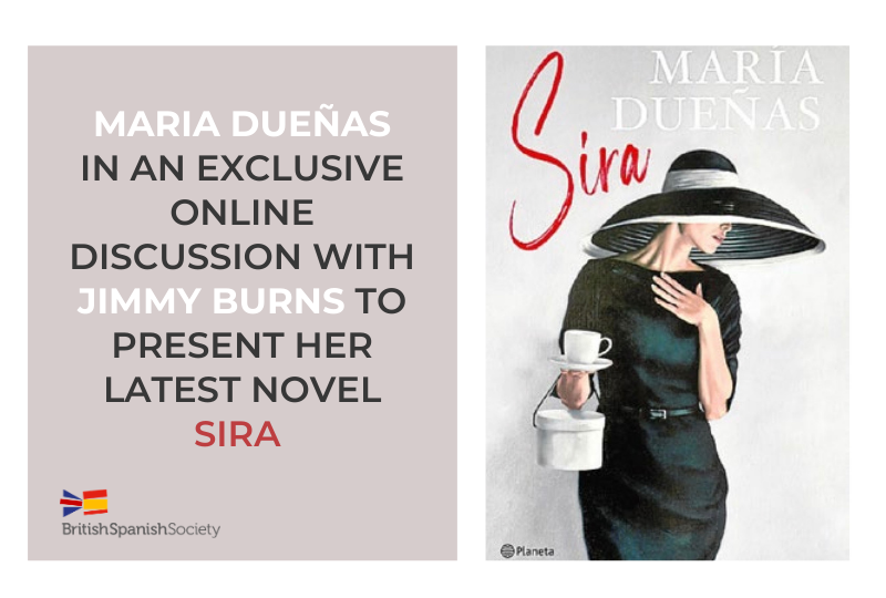 María Dueñas. New Book Launch
