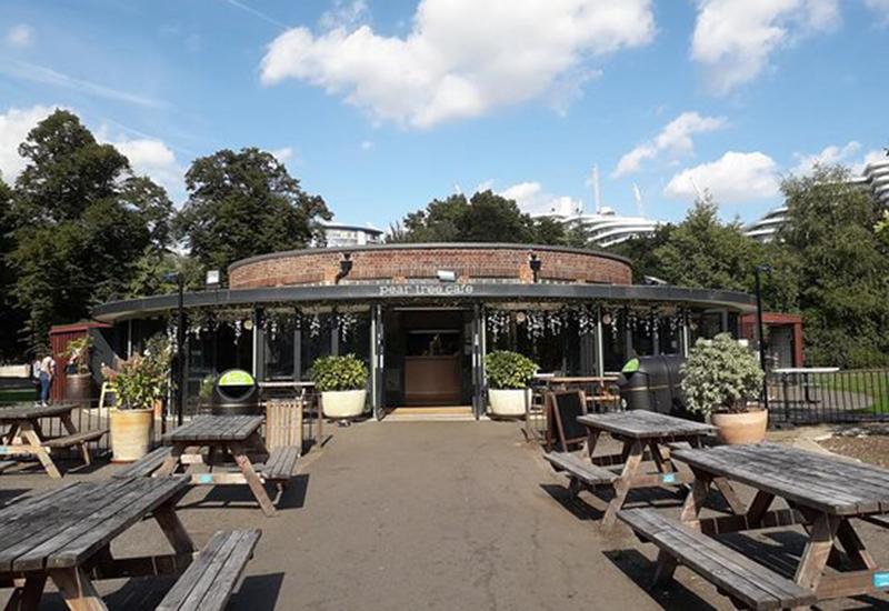 Pear Tree Cafe, Battersea Park