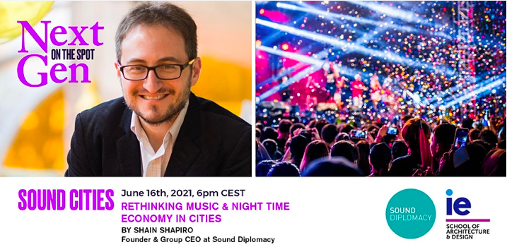 June 16th: NextGen On The Spot: Sound Cities